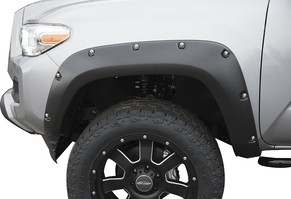 2016 2017 Toyota Tacoma Painted Fender Flares Trueedge Bolted Look