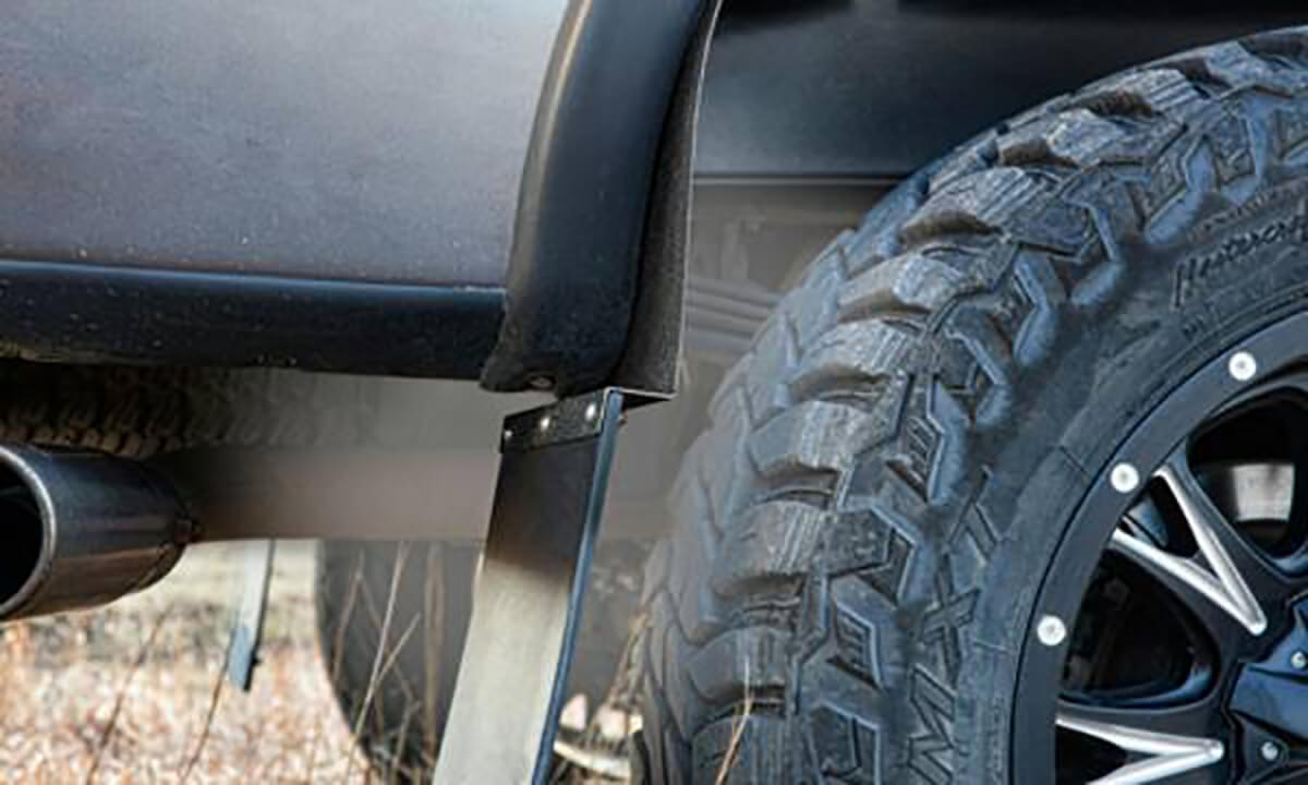 Husky Liners Kickback Mud Flaps For Lifted Trucks