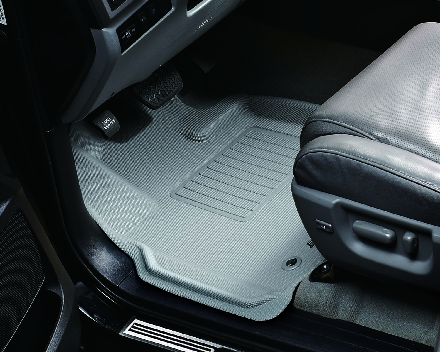 MAXpider Rubber Floor Mats for 2006-2011 Buick Lucerne ...
