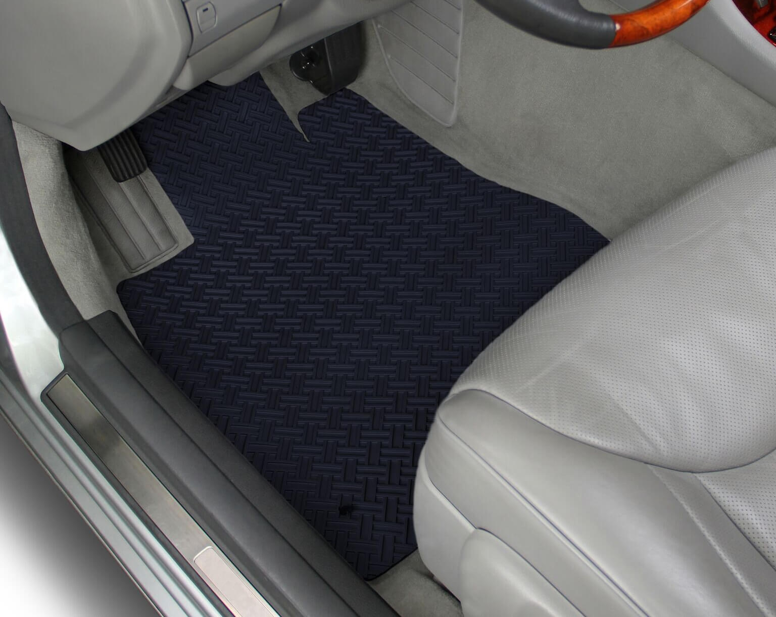 Fits Volvo S70 S80 V70 ALL WEATHER GREY RUBBER FLOOR MATS