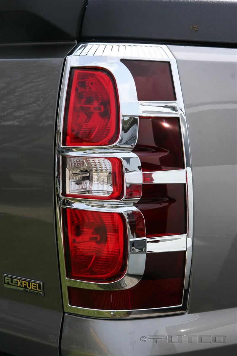 Putco Chrome Tail Light Cover Set Fast Shipping