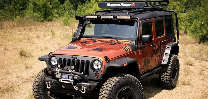 Rugged Ridge All Terrain Fender Flares Fast Shipping