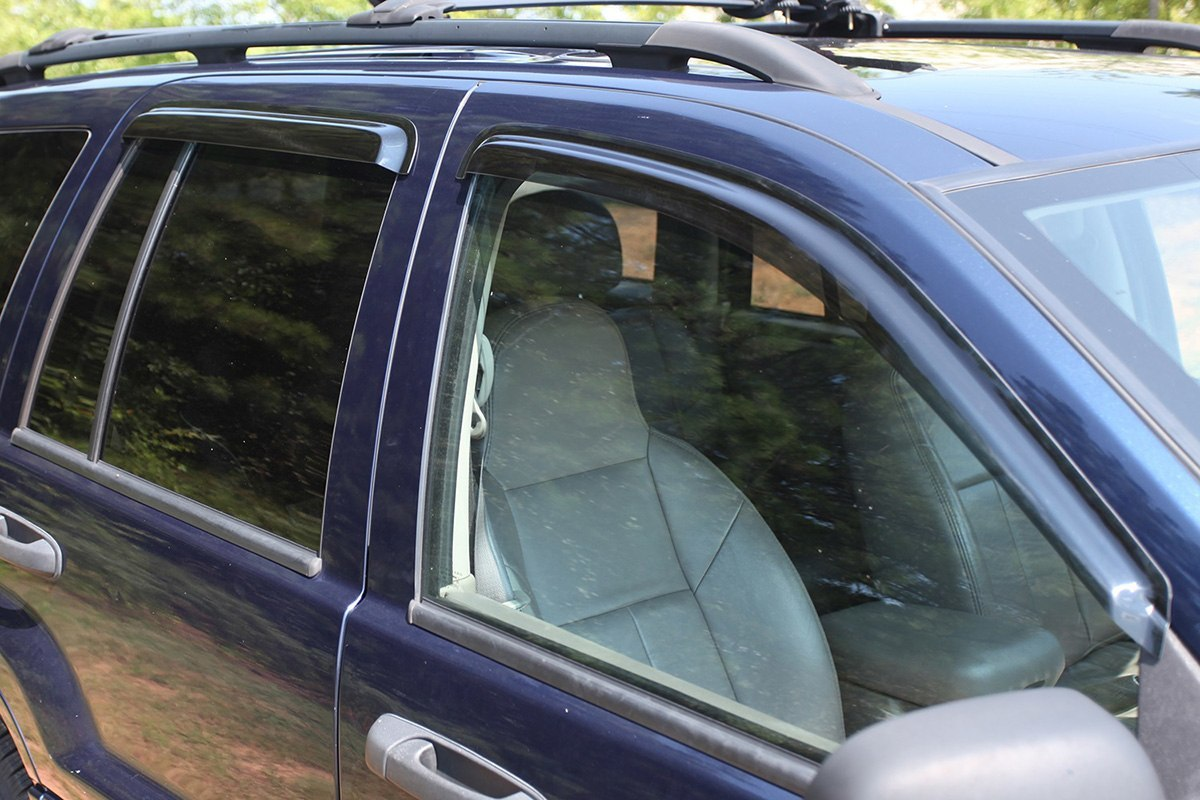 Rugged Ridge Side Window Visors