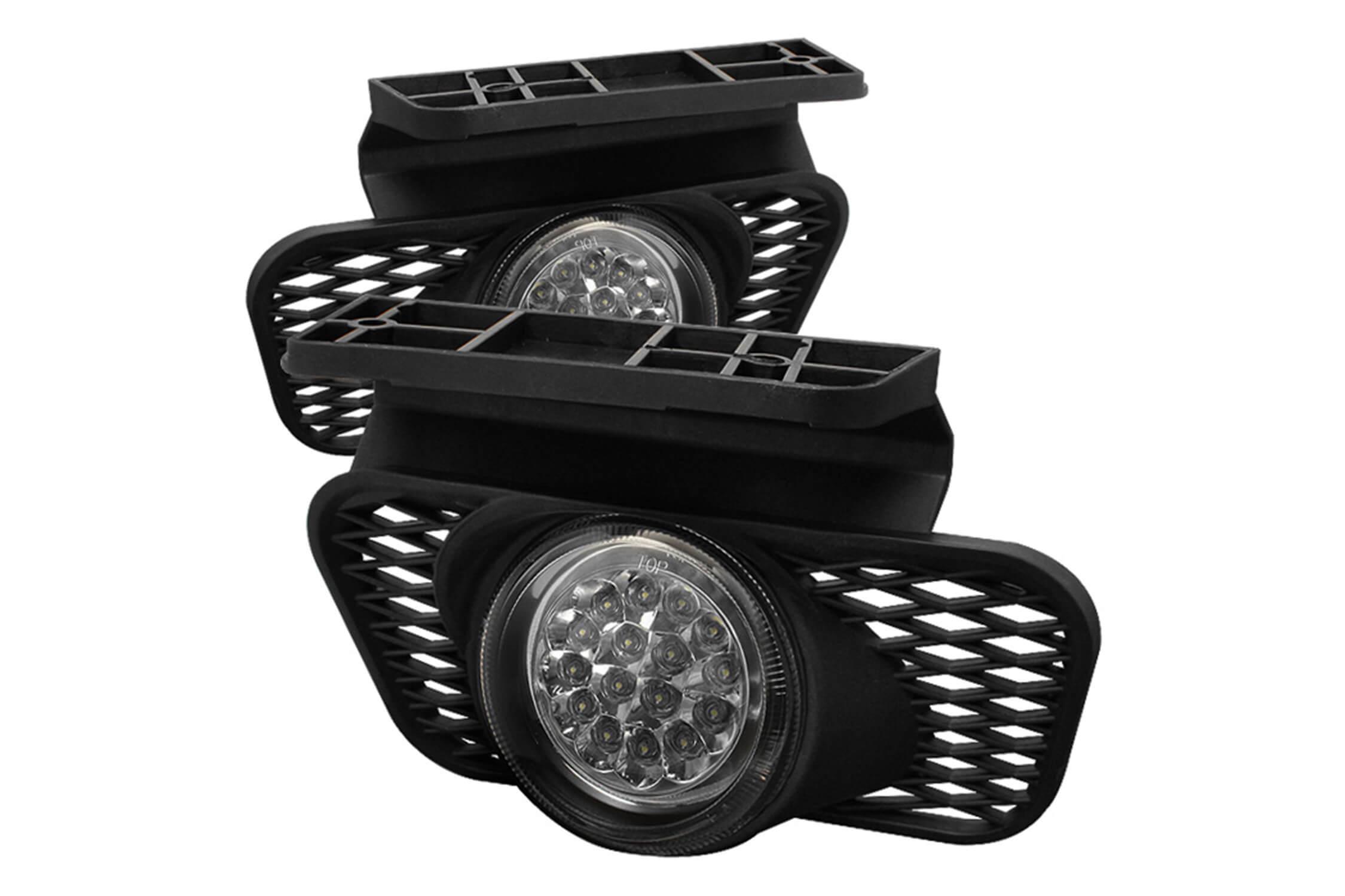 Spyder LED Fog Lights Set Get Fast & Free Shipping