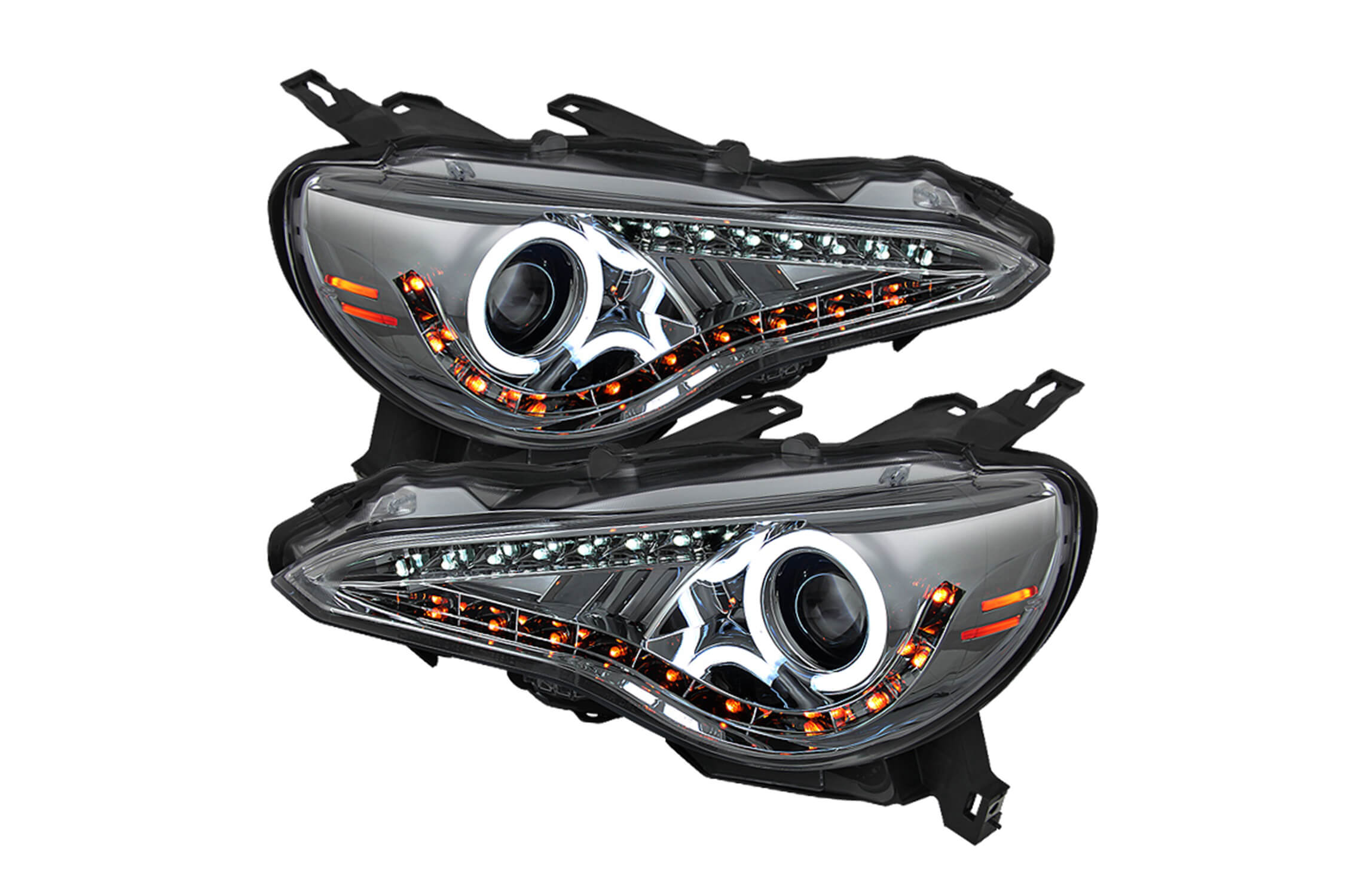 spyder projector head lights 5 spyder projector headlights set fast & free shipping! lund visor wiring harness at crackthecode.co