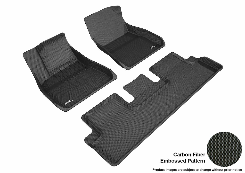 Rubber floor mats F150 Tesla Model 20182019 Maxpider Rubber Floor Mats covers Front Rear Black Max229678 Partcatalogcom Tesla Model Floor Mats Maxpider Custom Fit Rubber Liners