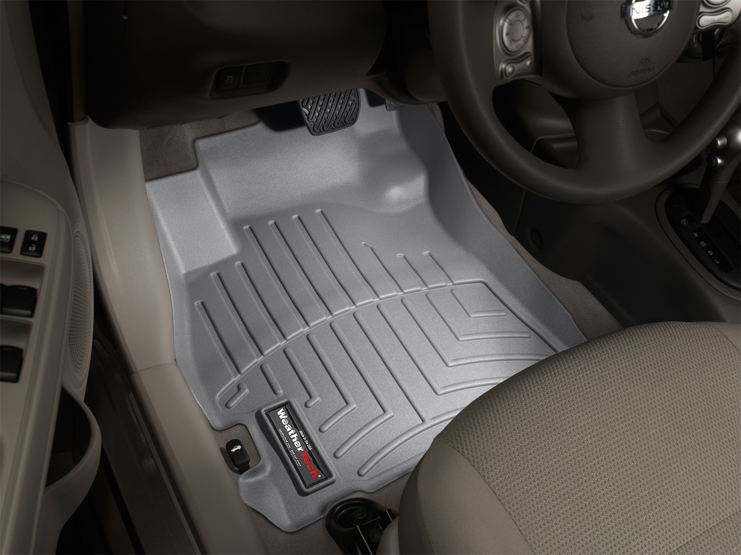 automotive mats amazon avm weathertech rear com fit car to and trim dp mat universal grey front