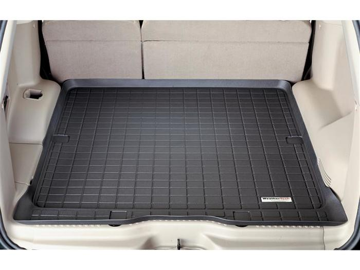 45006-1-2 Tan WeatherTech First and Second Row FloorLiner