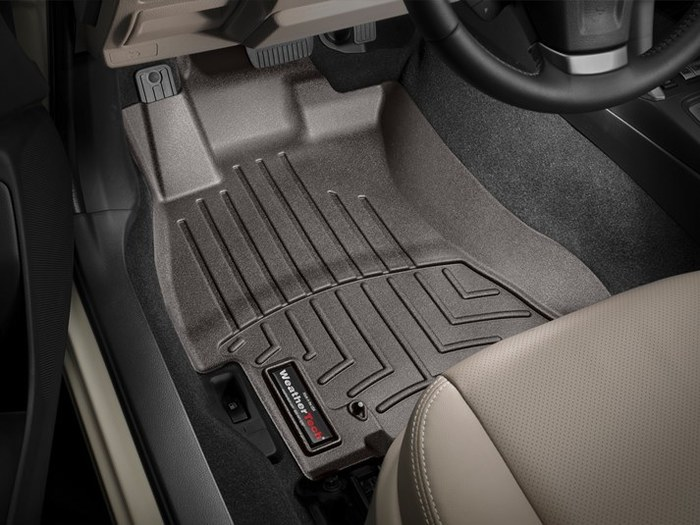2018 Subaru Forester All Weather Floor Mats Carpet