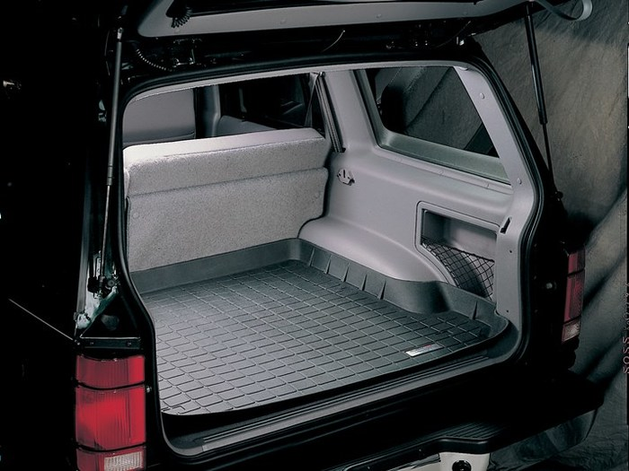 45072-1-2 Tan WeatherTech First and Second Row FloorLiner