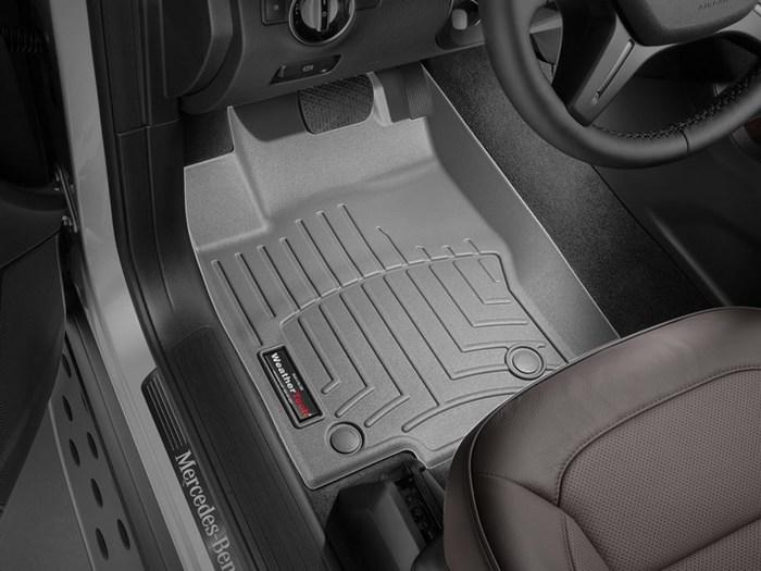 440162 Black WeatherTech Custom Fit Rear FloorLiner for Select Mercedes-Benz Models
