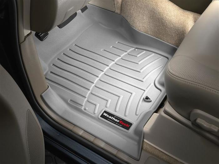 Tan 450331 WeatherTech Custom Fit Front FloorLiner for Nissan Pathfinder