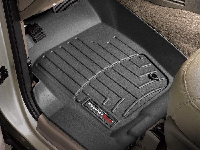 Black WeatherTech Custom Fit Rear FloorLiner for Ford Explorer//Mercury Mountaineer