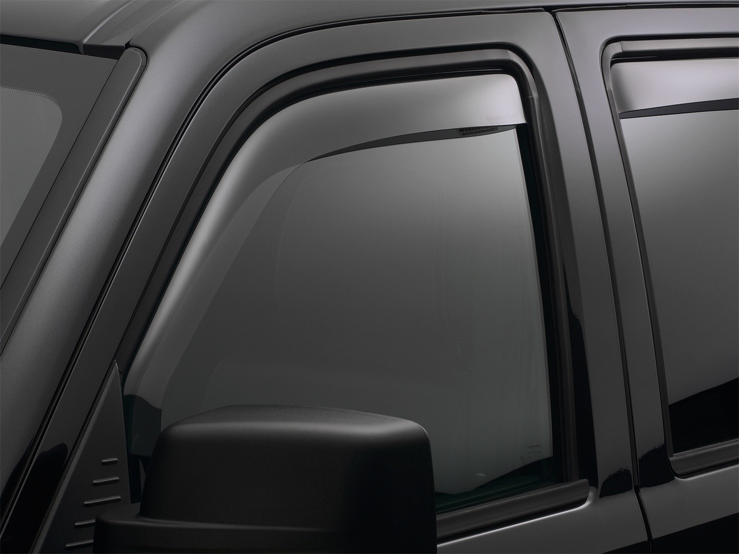 WeatherTech Front and Rear Side Window Deflector for Select Volkswagen Tiguan Models