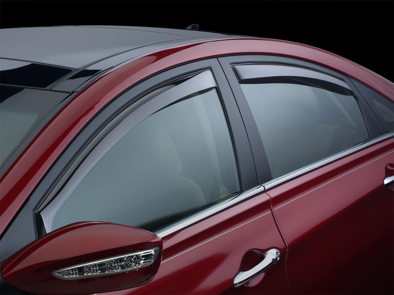 weathertech in-channel side window deflectors