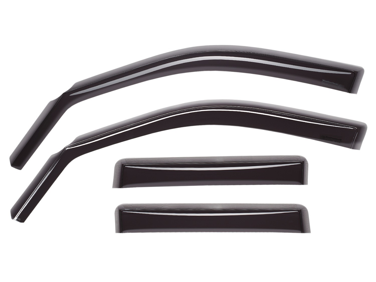 Weathertech In Channel Side Window Deflectors In Stock