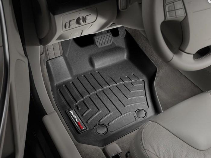 Rubber and Carpet Floor Mats Protectors Volvo V60 2010-2018