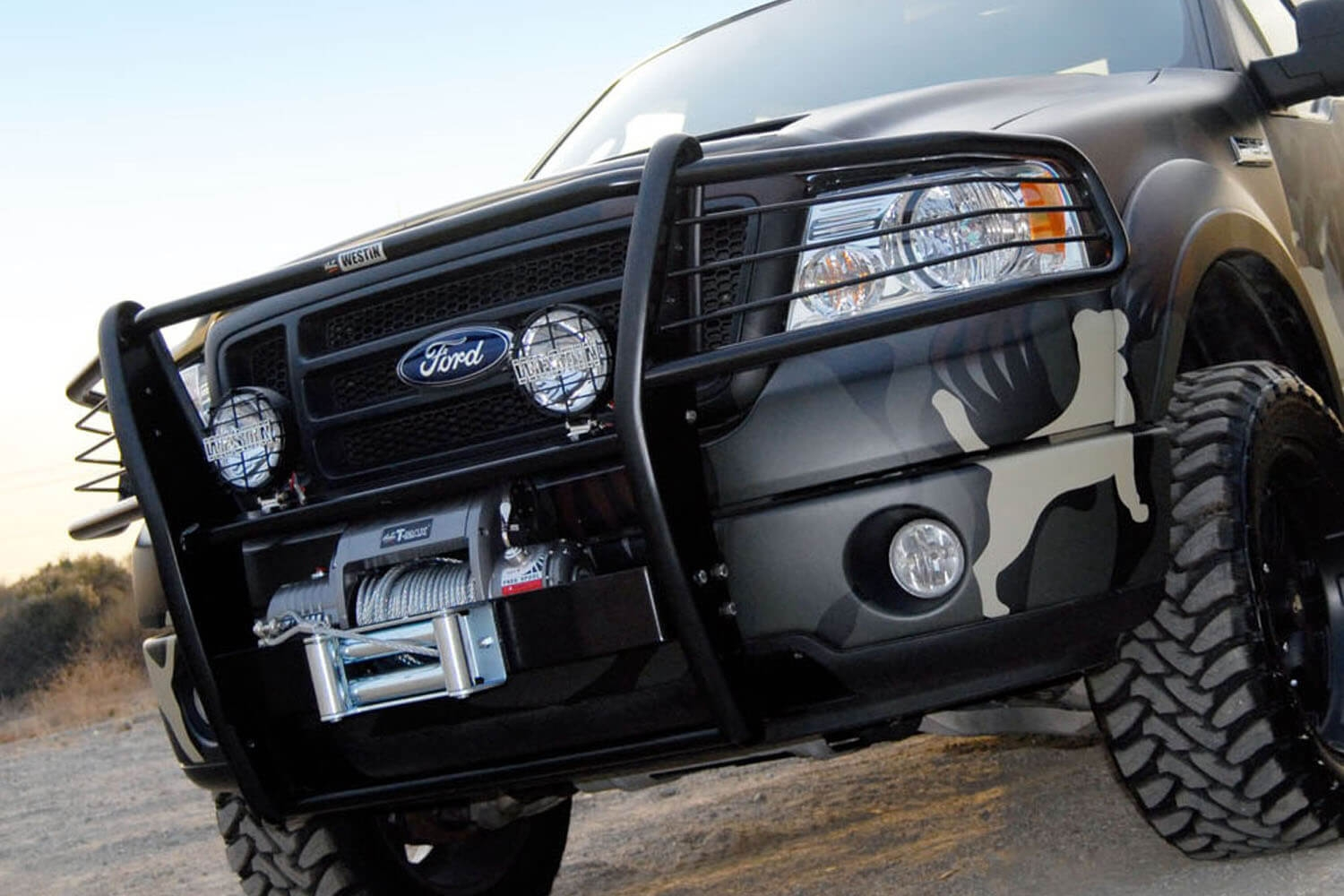 Westin Sportsman Winch Mount Grille Guards Partcatalog