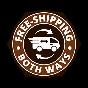 Free Shipping Both Ways