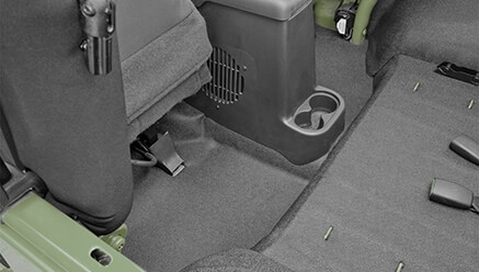 BedRug BedTred Jeep Cargo Floor Liner Kit