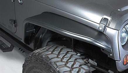 Bushwacker Aluminum Tube Fender Flares