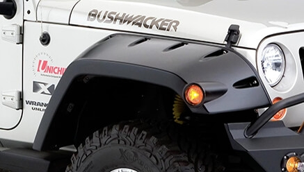 Bushwacker Max Coverage Fender Flares