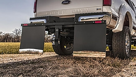Husky Hitch Mount Mud Flaps