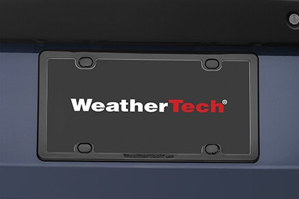 WeatherTech PlateFrame License Plate Frame