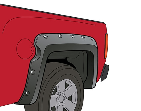 Chevrolet Silverado Short Bed Fender Flares