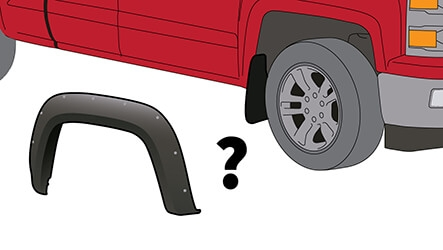 Will my mud flaps work with fender flares?