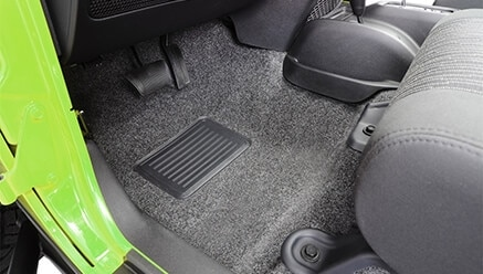 BedRug Classic Jeep Floor Liner Kit