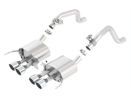 S-Type Axle-Back Exhaust System