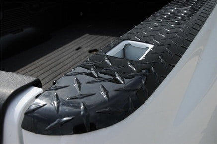 Black Tread Wrap Side Truck Bed Caps