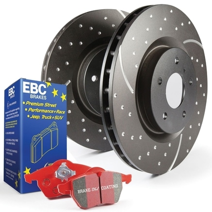 S4 Redstuff and USR Rotors Kit