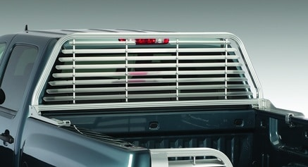 Rear Window Louvered Sunshade