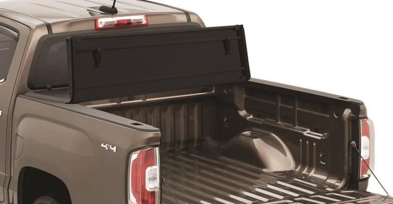 This is the of TonnoPro HardFold Tri-Fold Tonneau Cover