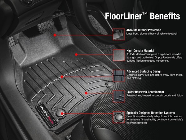 Weathertech DigitalFit Weather Mats