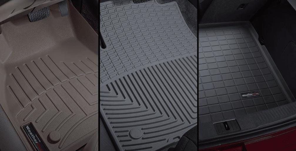 Clean weathertech mats